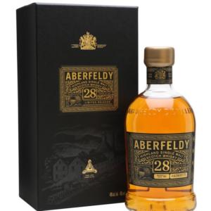 Skotska whisky Aberfeldy 28y 0