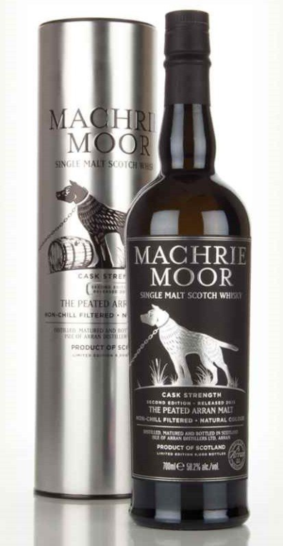 Skotska whisky Arran Machrie Moor Cask Strength 0
