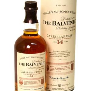 Skotska whisky Balvenie Carribean Cask 14y 0