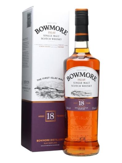 Skotska whisky Bowmore 18y 0