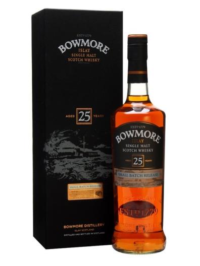 Skotska whisky Bowmore 25y 0