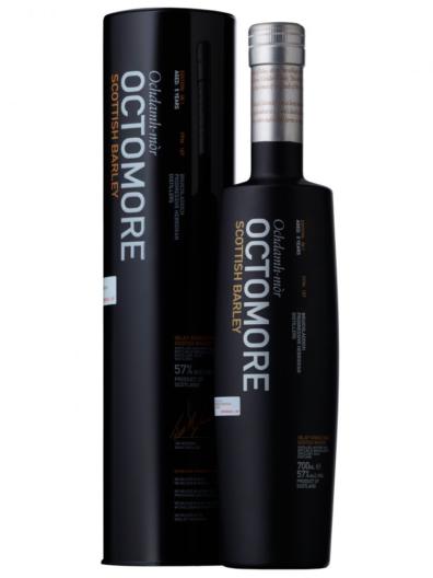 Skotska whisky Bruichladdich Octomore 06.1 5y 0