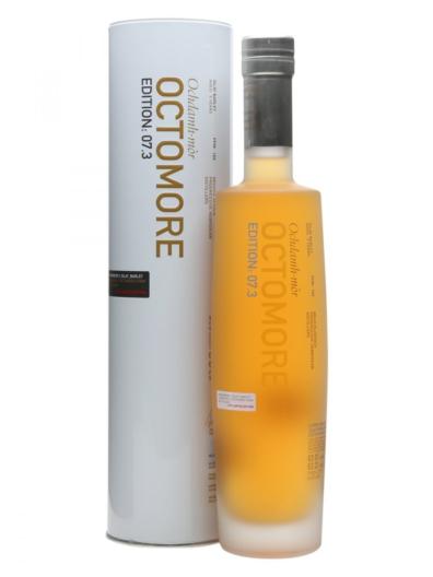 Skotska whisky Bruichladdich Octomore 7.3 Scottish Barley 5y 2010 0