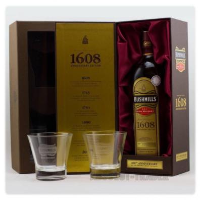 Irska whiskey Bushmills 1608 Anniversary Edition 0