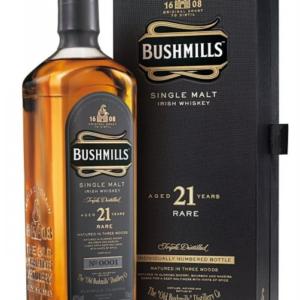 Irska whiskey Bushmills 21y 0