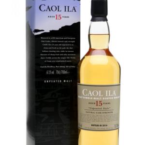 Skotska whisky Caol Ila 15y 0