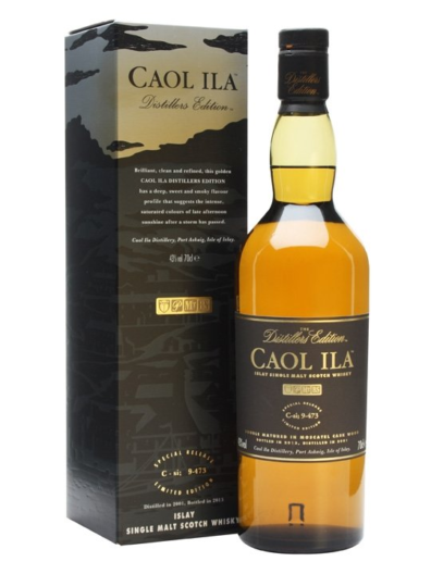 Skotska whisky Caol Ila Distillers Edition 0