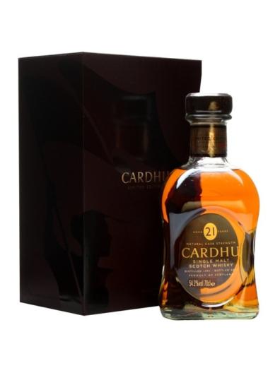 Skotska whisky Cardhu 21y 0