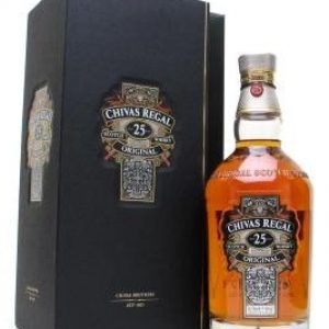 Skotska whisky Chivas Regal 25y 0