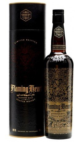 Skotska whisky Compass Box Flaming Heart 5th Edition 0