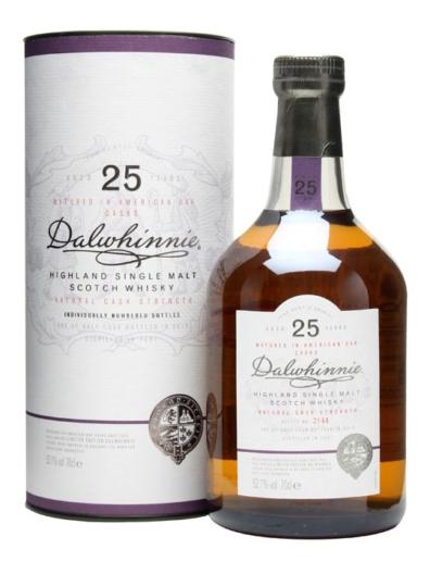 Skotska whisky Dalwhinnie Natural Cask Strength 25y 0