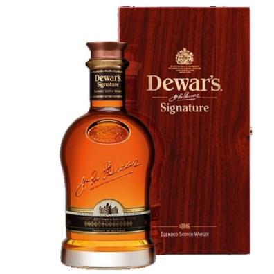 Skotska whisky Dewar's Signature 0