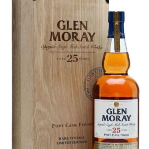 Skotska whisky Glen Moray Portcask 25y 0