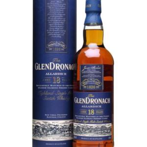 Skotska whisky Glendronach Allardice 18y 0