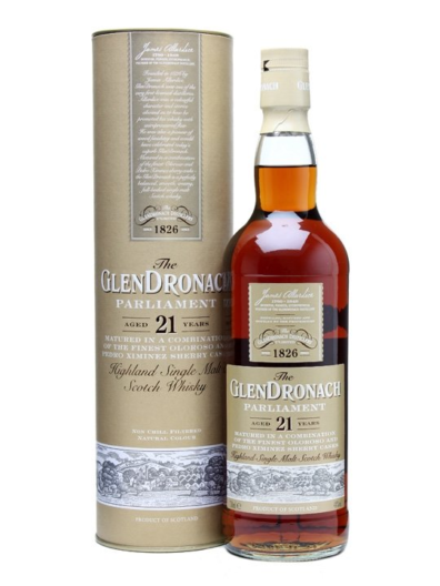 Skotska whisky Glendronach Parliament 21y 0