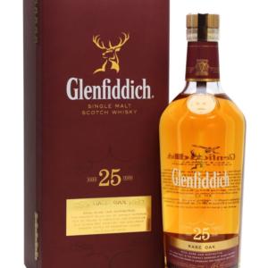 Skotska whisky Glenfiddich Rare Oak 25y 0