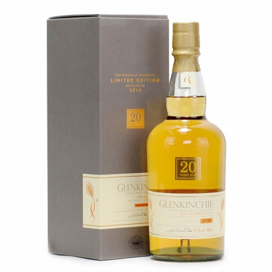 Skotska whisky Glenkinchie Release 20y 2010 0