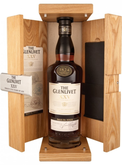 Skotska whisky Glenlivet 25y 0