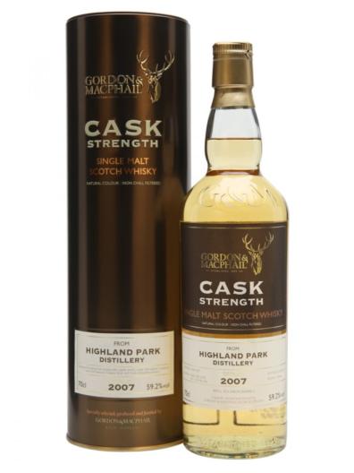 Skotska whisky Highland Park 2007 0