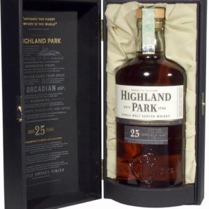 Skotska whisky Highland Park 25y 0