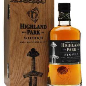 Skotska whisky Highland Park Sigurd 0