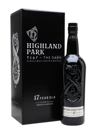 Skotska whisky Highland Park The Dark 17y 0