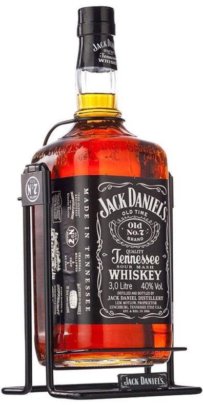 Americka whiskey Jack Daniel's 3l 40% Kolébka