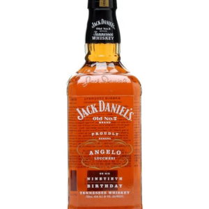 Americka whiskey Jack Daniel's Angelo Lucchesi 90th Birthday 45% L.E.
