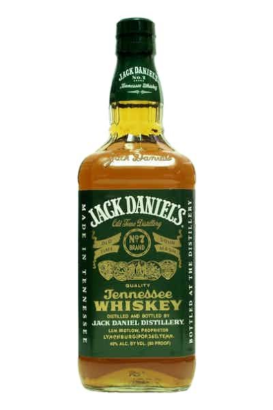 Americka whiskey Jack Daniel's Green Label 1
