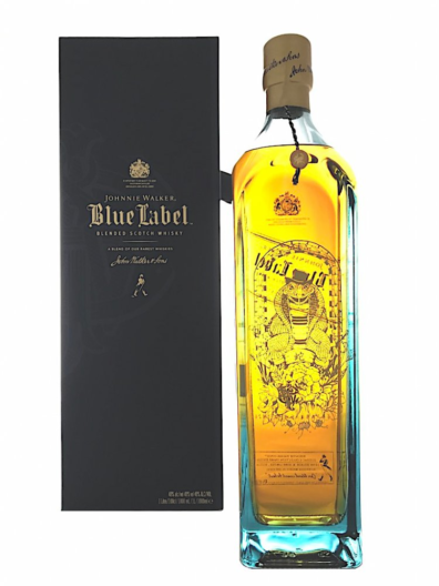 Skotska whisky Johnnie Walker Blue Label Snake 1l 40%