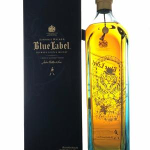 Skotska whisky Johnnie Walker Blue Label Tiger 1l 40%