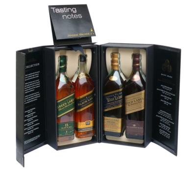 Skotska whisky Johnnie Walker Collection 4x0