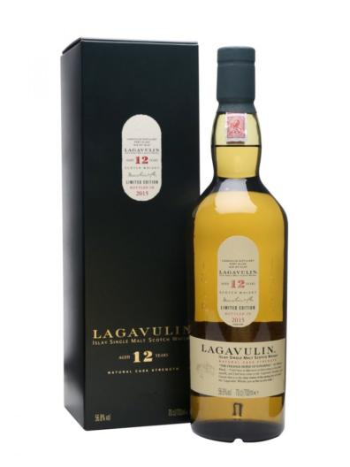Skotska whisky Lagavulin 12y 2015 0