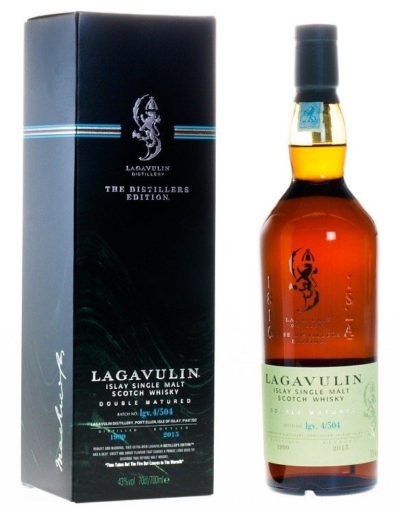 Skotska whisky Lagavulin Distillers Edition 1999 0