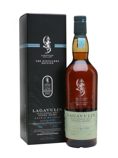 Skotska whisky Lagavulin Distillers Edition 2000 0