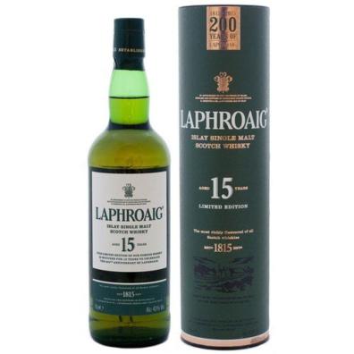 Skotska whisky Laphroaig 15y 0