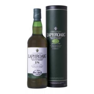 Skotska whisky Laphroaig 18y 0