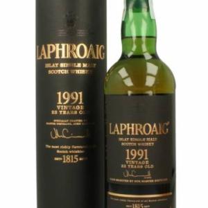 Skotska whisky Laphroaig 23y 1991 0