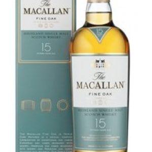 Skotska whisky Macallan Fine Oak 15y 0