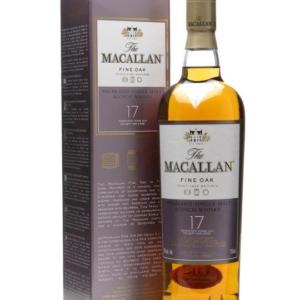 Skotska whisky Macallan Fine Oak 17y 0