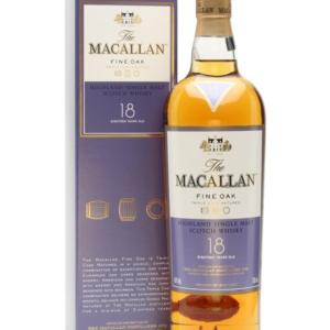 Skotska whisky Macallan Fine Oak 18y 0