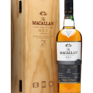 Skotska whisky Macallan Fine Oak 21y 0