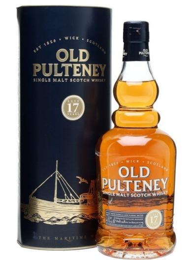 Skotska whisky Old Pulteney 17y 0