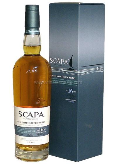 Skotska whisky Scapa 16y 0