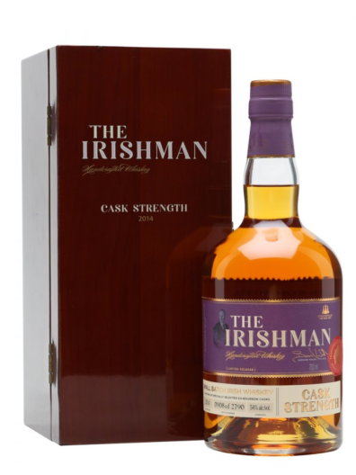 Irska whiskey The Irishman Cask Strength 2014 0