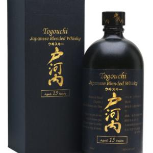 Japonska whisky Togouchi 15y 0