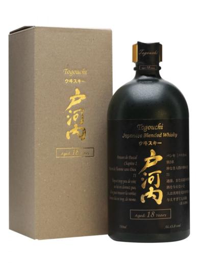 Japonska whisky Togouchi 18y 0