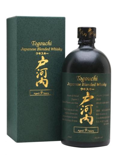 Japonska whisky Togouchi 9y 0